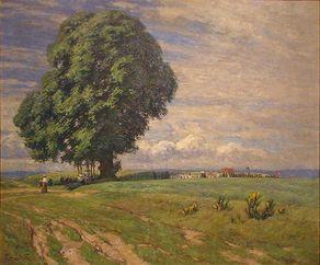 """Kulturhaus Beda – Gemälde """"Fronleichnam"""" von Fritz von Wille"""