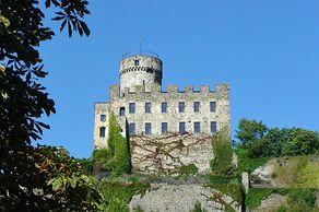 Burg Pyrmont im typischen Stil der Stauferzeit erbaut