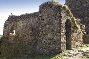 Burg Are bei Altenahr – Blick auf die Reste der Burgkapelle