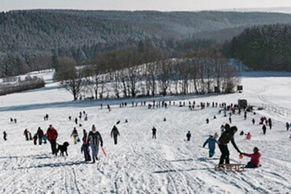 Rodel- und Ski-Vergnügen in Udenrath
