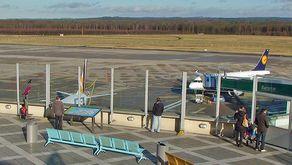 Besucherterasse auf dem Terminal 1 des Köln Bonn Airport