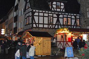 Weihnachtsmarkt in Bad Münstereifel © Foto Aktivkreis Handel, Handwerk und Gewerbe Bad Münstereifel e.V