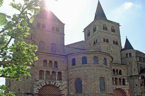 Trierer Dom – Ansicht von Westen