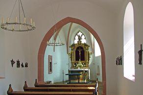 Ahekapelle bei Nettersheim am Jakobsweg Köln - Trier – Innenraum