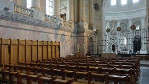 Dom St. Blasien - Blick vom Chorraum in die Kuppel
