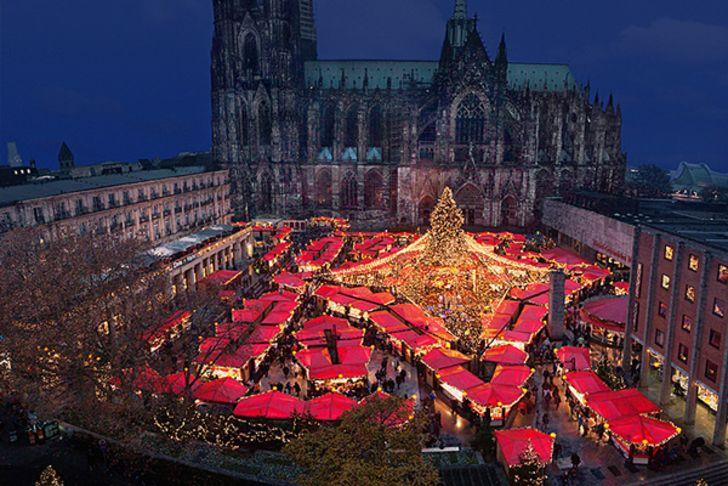 Weihnachtsmarkt am Dom – Foto © www.koelnerweihnachtsmarkt.com