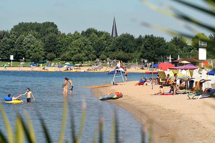 Xandener Südsee – Badesee in Xanten © Foto Stadt Xanten