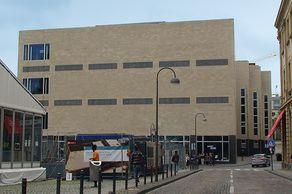 Wallraf-Richartz-Museum in Köln – neues Gebäude nach Entwürfen des Kölner Architekten Oswald Mathias Ungers