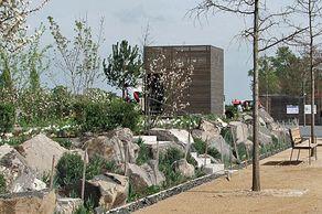 Zülpich Gartenschaupark – Blick auf die Mustergärten