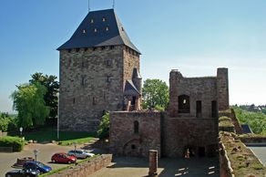 Burg Nideggen – Innenhof