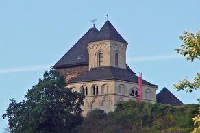 Kobern-Gondorf – romanische Kapelle neben der Oberburg