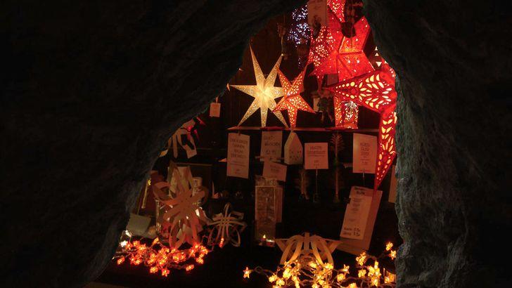 Weihnachtsmarkt an der Kakushöhle