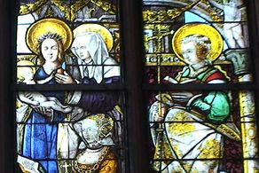 Schleiden – Schlosskirche – die sehenswerten Glasfenster von 1533