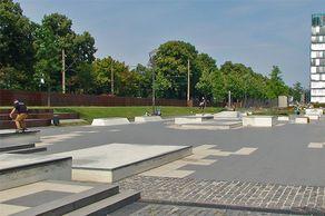 Skaterpark Kap 686 am Rheinauhafen Köln