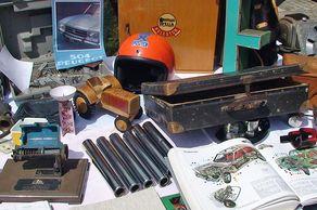 Classic Cars & Caravans Niederkassel – manches alte Schnäppchen ist auf dem Teilemarkt zu finden