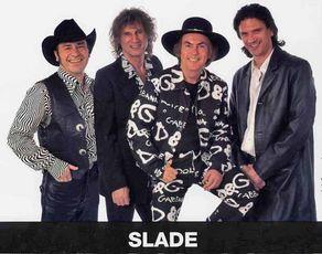 """Die bekannte Pop-Band """"Slade spielte 2017 bei den Rheinbach Classics."""