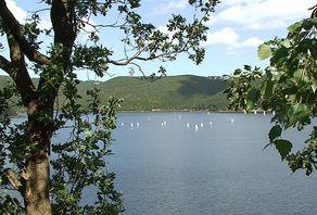 3-Tage-Wanderung am Rursee – ständiger Blick auf den See