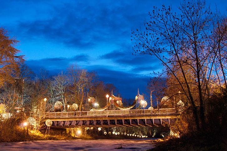 Weihnachtsmarkt Bad Neuenahr – Uferlichter © Foto Uferlichter Kultur e.V.
