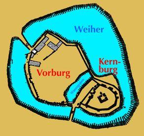 Hardtburg bei Euskirchen – Grundriss