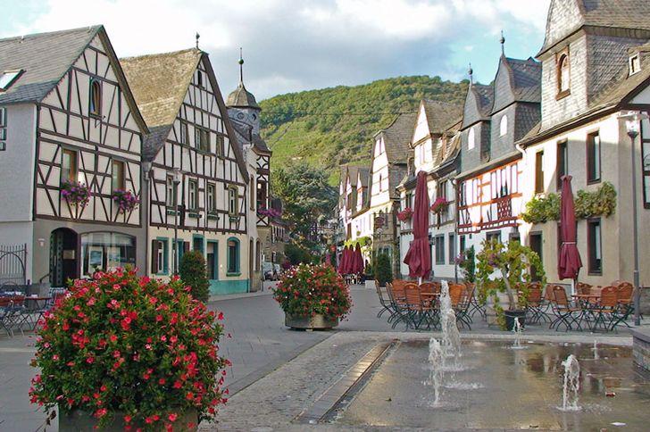Kobern-Gondorf – Marktplatz in Kobern