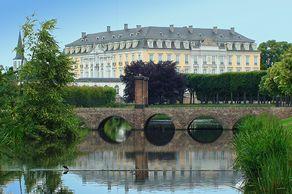Schloss Brühl – Südwestansicht