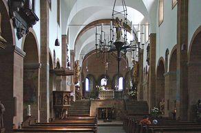 Bad Münstereifel – Stiftskirche – Innenraum