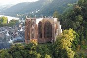 Ruine der Wernerkapelle in Bacharach