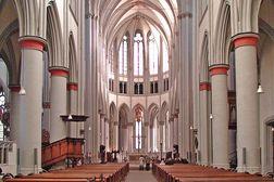 Altenberger Dom – Innenansicht mit Chor