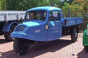 Zeitblende-Attraktion: Kleintransporter Goliath 750 im Freilichtmuseum Kommern