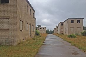 Wollseifen – Häuserzeile des ehemaligen Truppenübungsplatz