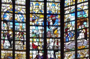 Stiftskirche in Kyllburg – Glasfenster aus der Renaissanceim Chor der Kirche