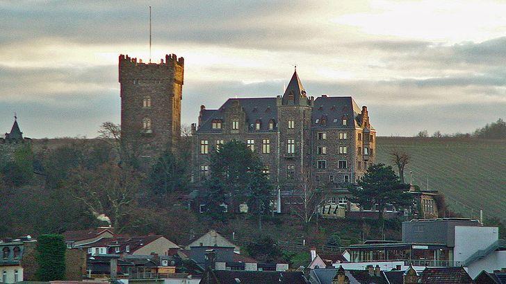 Burg Klopp in Bingen, heute Sitz der Stadtverwaltung