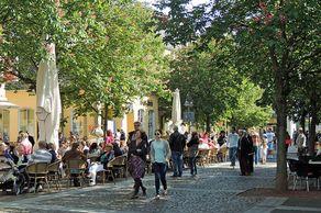 Brühl – Marktplatz in der Innenstadt