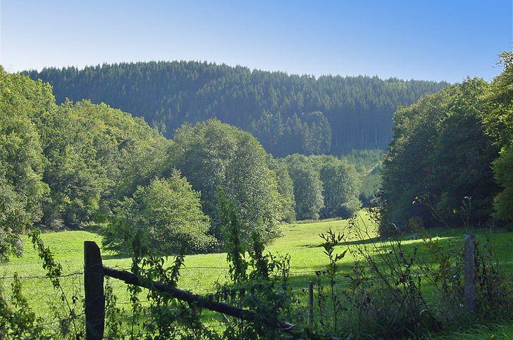 Ardennen – Landschaft oberhalb von Wiltz