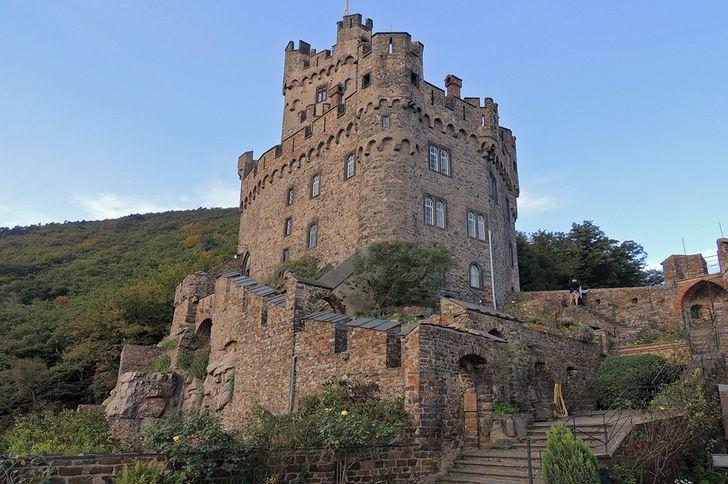 Burg Sooneck Im Oberen Mittelrheintal