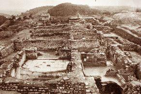 Römervilla Blankenheim – Foto von den ersten Ausgrabungen