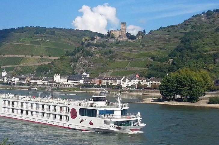 Burg Gutenfels oberhalb von Kaub