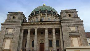 Dom St. Blasien - Front der Kuppelkirche