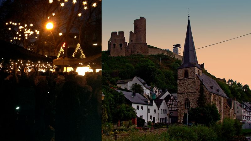 Cochem Weihnachtsmarkt.Weihnachtsmarkt Monreal Rhein Eifel Tv