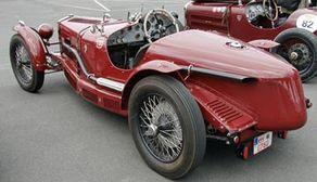 Rennwagen aus den 1920-Jahren bei der Historic Trophy Nürburgring