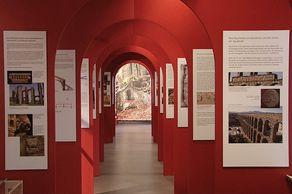 Wasser für Roms Städte – Blick in die Ausstellung