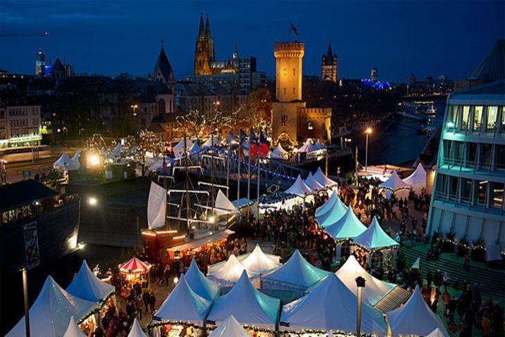 Kölner Hafen-Weihnachtsmarkt am Schokoladenmuseum Fotos: © www.hafen-weihnachtsmarkt.de