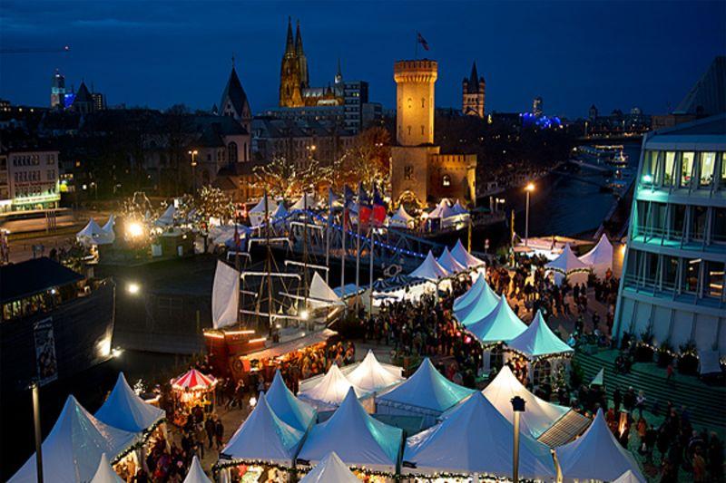 öffnungszeiten Weihnachtsmarkt Köln.Weihnachtsmarkt Köln Am Schokoladenmuseum Rhein Eifel Tv
