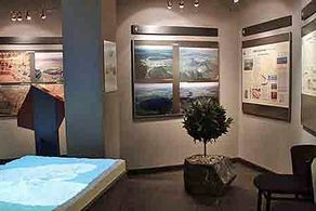 Vulkanmuseum in Daun – Blick in die Ausstellung