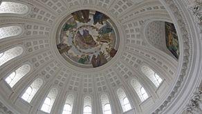St. Blasien - Blick in die Kuppel der Klosterkirche