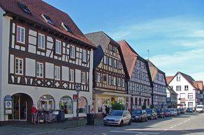 Zell am Harmersbach – Blick auf die Hauptstrasse