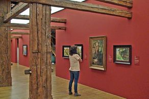 Augustinermuseum Freiburg – Austellung im Dachgeschoss mit Gemälden des 19. Jahrhunderts