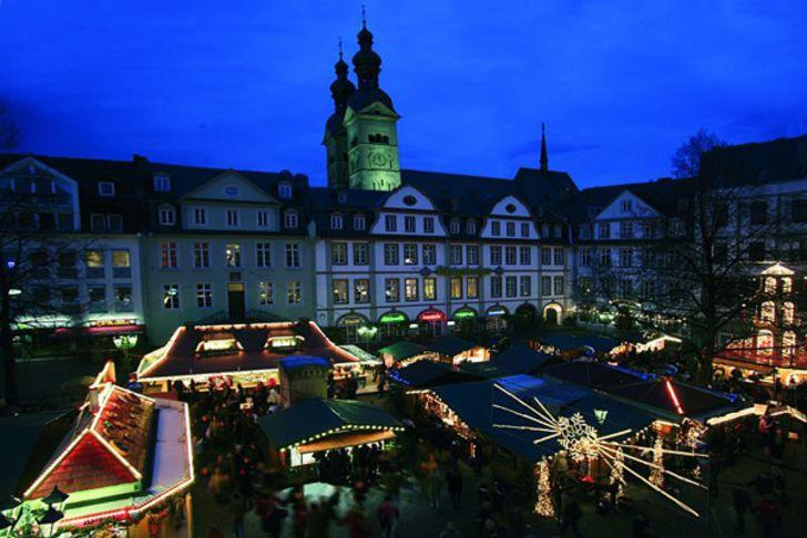 Weihnachtsmarkt in Koblenz © Foto Stadt Koblenz
