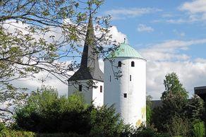 Walberberg im Vorgebirge – Kirchturm und der Hexenturm