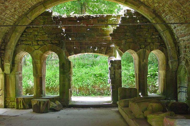 Klosterruine Allerheiligen – Ruinen am Ökonomiegebäude